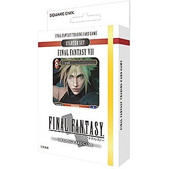 TCG Final Fantasy VII Starter Set (Japanese Ver.) (Set of 6 pieces)