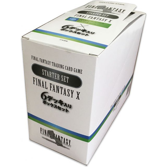 TCG Final Fantasy X Starter Set (Japanese Ver.) (set of 6 pieces) (6 packs of the same)