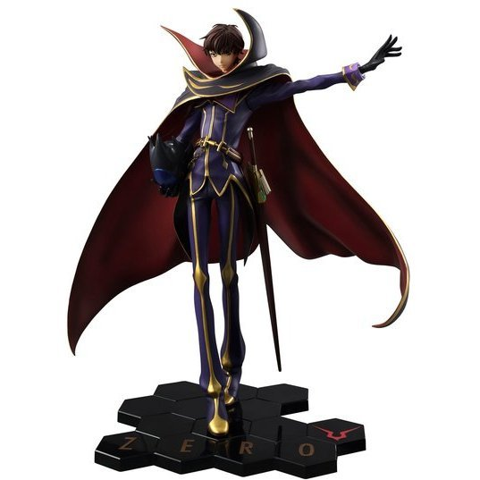 G.E.M. Series Code Geass - Hangyaku no Lelouch R2 1/8 Scale Pre-Painted Figure: Zero 10th Anniversary Ver.