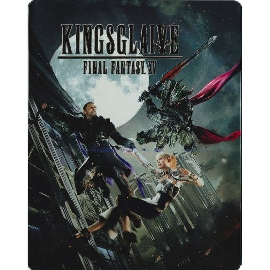 Kingsglaive Final Fantasy XV [Limited Edition Steel Book]