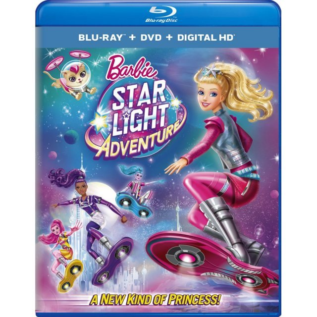 Barbie: Star Light Adventure [Blu-ray+DVD+Digital HD]