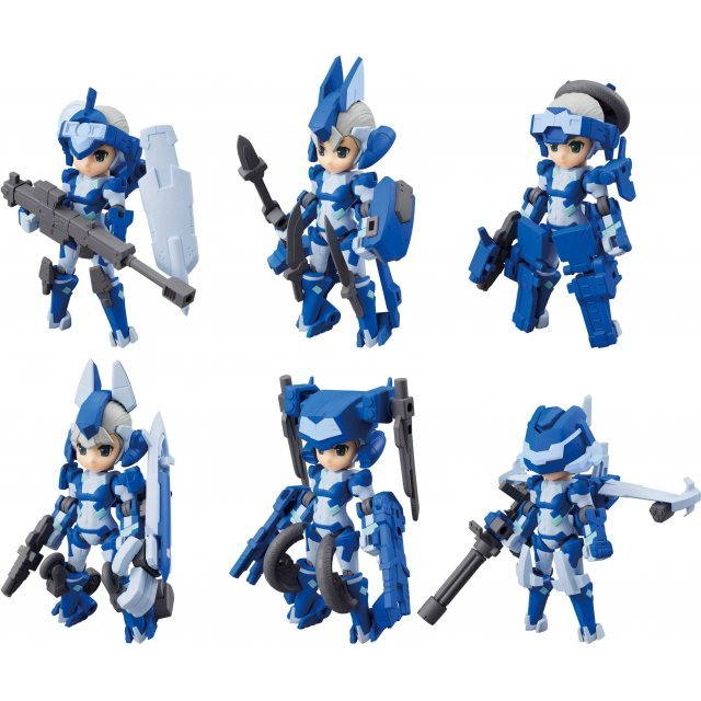 Desktop Army H-819s Chrom Series (Set of 6 pieces)