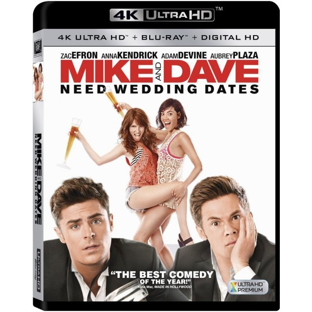 Mike And Dave Need Wedding Dates [4K Ultra HD Blu-ray]