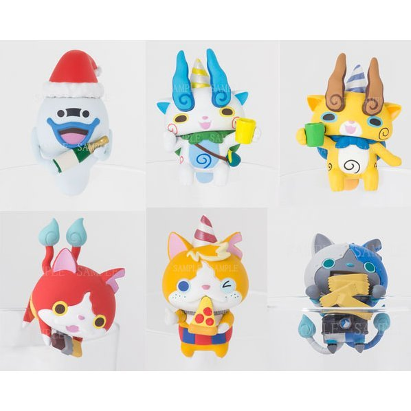 PUTITTO Series Youkai Watch Cup no Fuchi de Party!! (Set of 8 pieces)