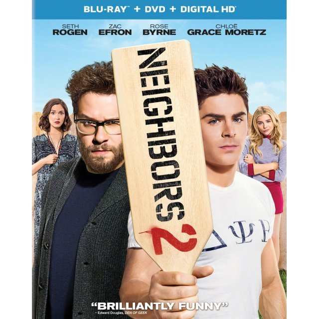 Neighbors 2: Sorority Rising [Blu-ray+DVD+Digital HD]