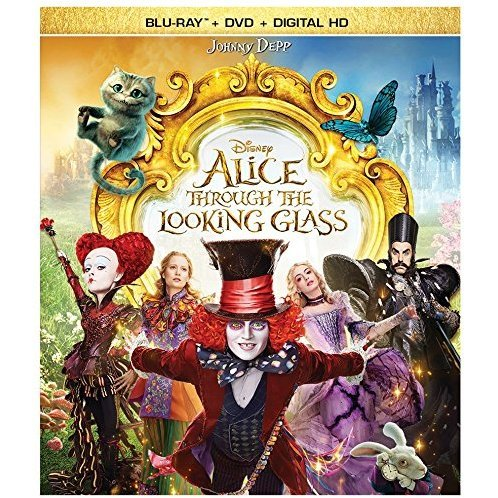 Alice Through the Looking Glass [Blu-ray+DVD+Digital HD]