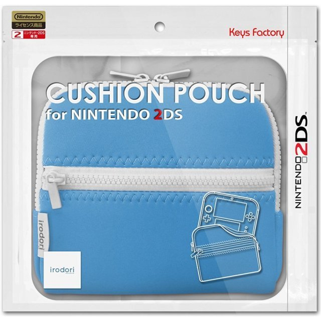 Cushion Pouch for 2DS (Blue)