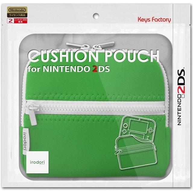 Cushion Pouch for 2DS (Green)