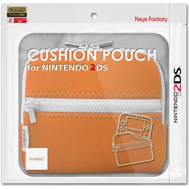Cushion Pouch for 2DS (Orange)