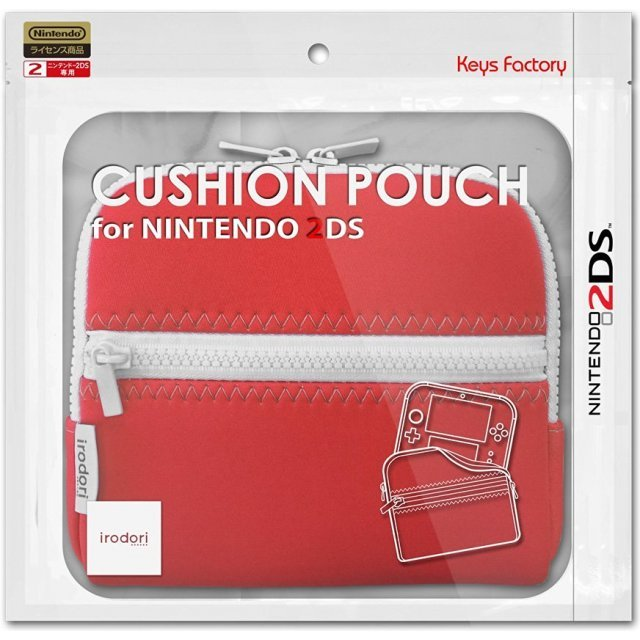Cushion Pouch for 2DS (Red)