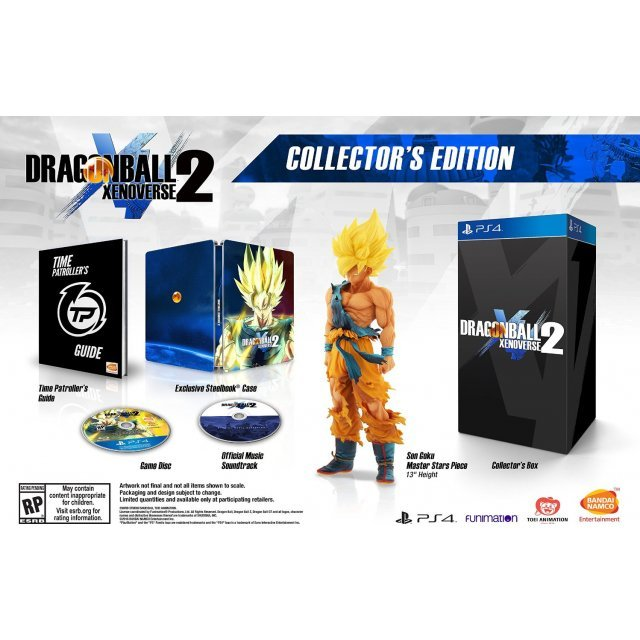 Dragon Ball: Xenoverse 2 [Collector's Edition] (Chinese Subs)