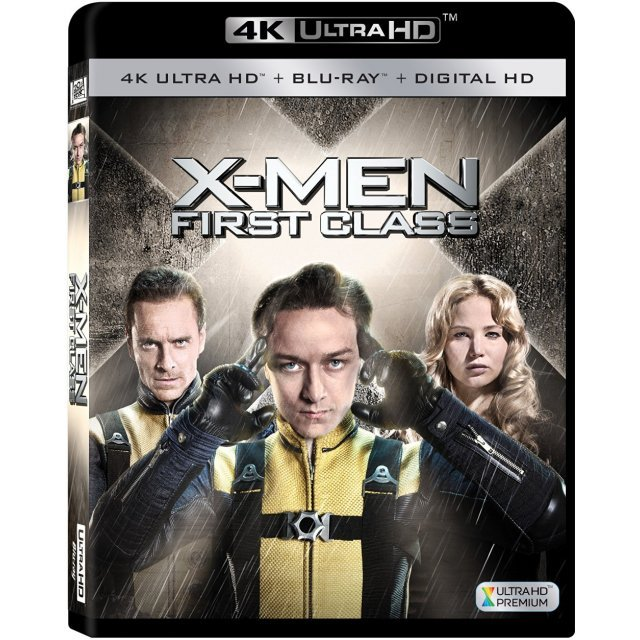 X-men: First Class [4K Ultra HD Blu-ray]