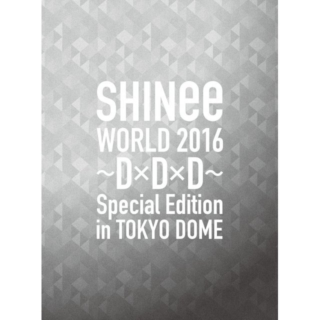Shinee World 2016 - DxDxD - Special Edition In Tokyo [Limited Edition]