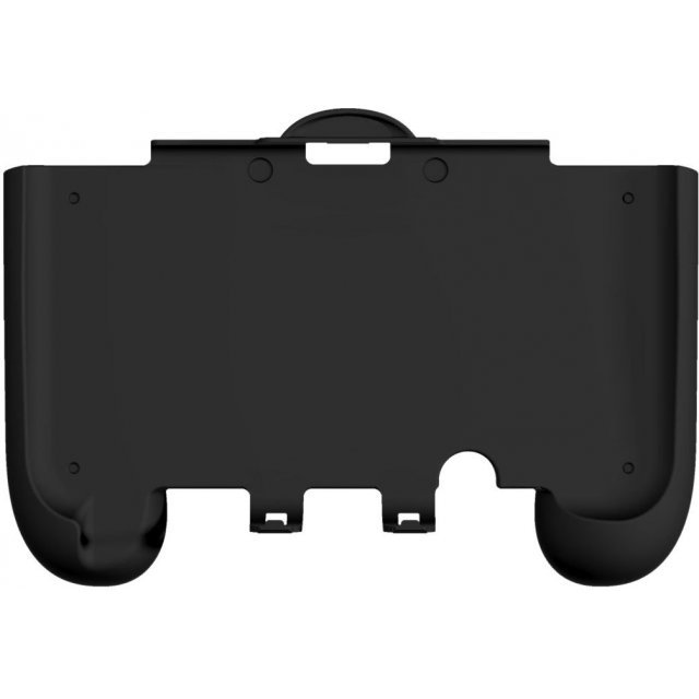 Rubber Coat Grip Slim for New 3DS LL Compact Type (Black)
