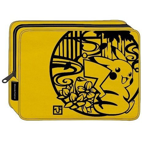 Pokemon Kirie Series Square Pouch: Pikachu
