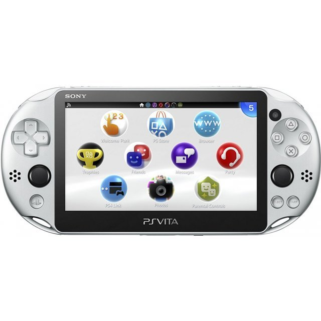 PS Vita PlayStation Vita New Slim Model - PCH-2000 (Silver)