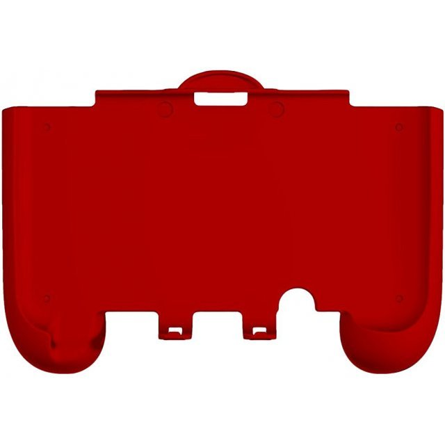 Rubber Coat Grip Slim for New 3DS LL Compact Type (Red)