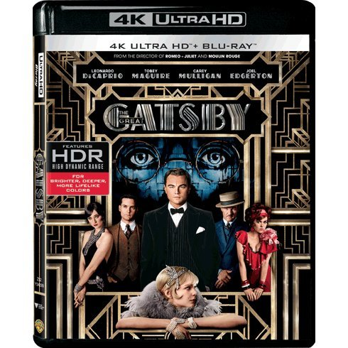 The Great Gatsby (4K UHD+BD)(2-DISC)
