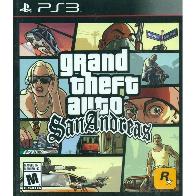 Grand Theft Auto: San Andreas (Spanish Cover)