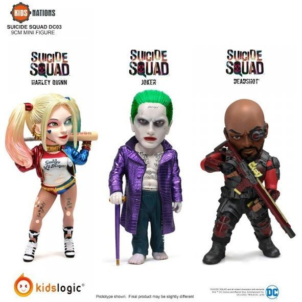 Kids Nations Suicide Squad (Set of 3 pieces)