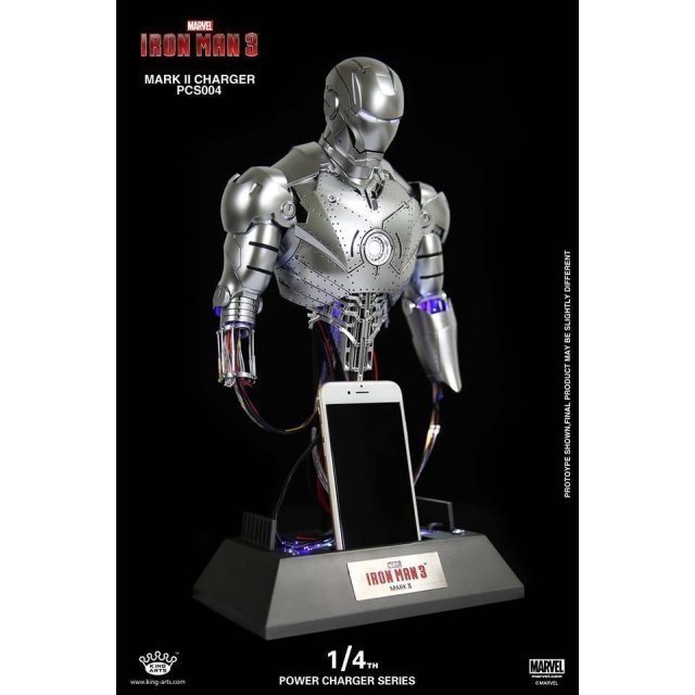 King Arts Iron Man 1/4 Power Charger Series: Iron Man Mark 2 Repair Ver.