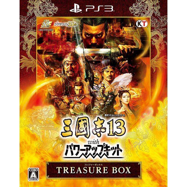Sangokushi 13 with Power Up Kit [Treasure Box]