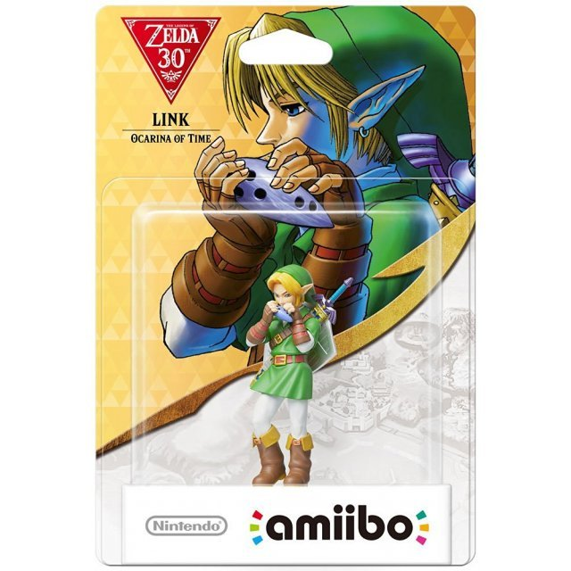 amiibo The Legend of Zelda: Ocarina of Time 30th Anniversary Series (Link)
