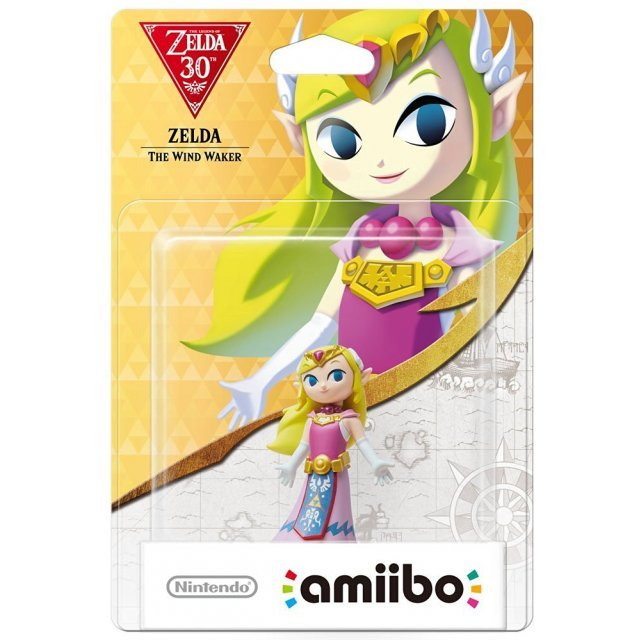 amiibo The Legend of Zelda: The Wind Waker 30th Anniversary Series (Zelda)