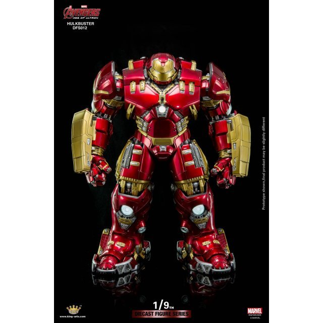 King Arts Avengers Age of Ultron 1/9 Diecast Figure Series: Hulkbuster