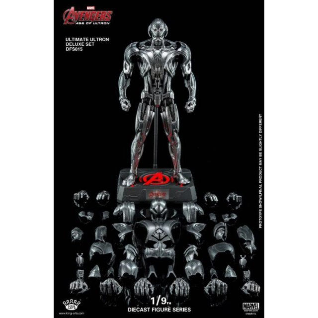 King Arts Avengers Age of Ultron 1/9 Diecast Figure Series: Ultimate Ultron Deluxe Set