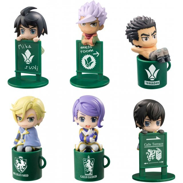 Ochatomo Series Mobile Suit Gundam: Iron-Blooded Orphans Sustenance of Life is on The Meal! (Set of 8 pieces)