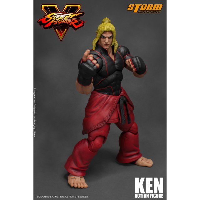 Street Fighter V 1/12 Scale Pre-Painted Action Figure: Ken