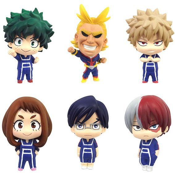Color Collection My Hero Academia (Set of 6 pieces)