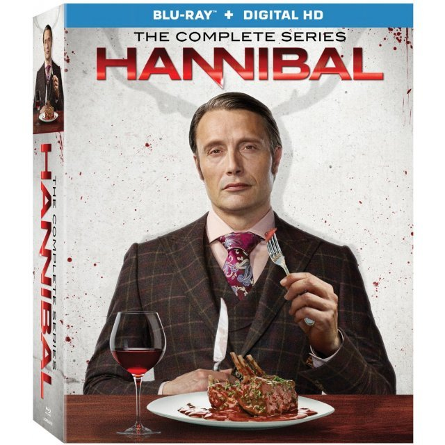 Hannibal: The Complete Series [Blu-ray+Digital HD]