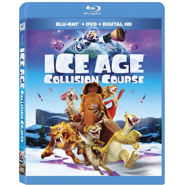 Ice Age: Collision Course [Blu-ray+DVD+Digital HD]