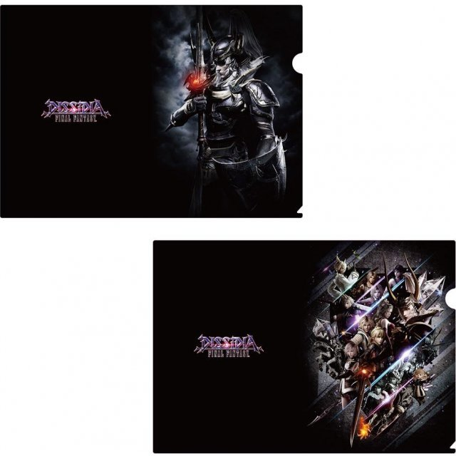 Dissidia Final Fantasy Clear File Set