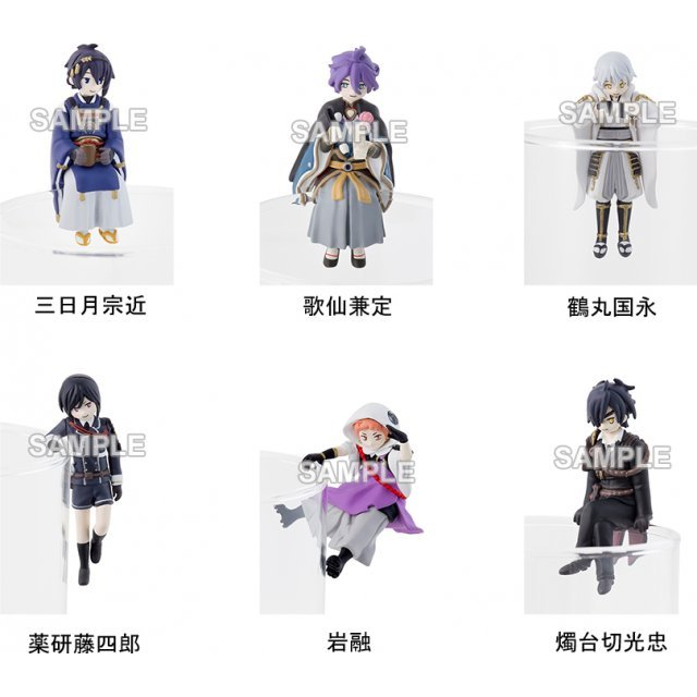 PUTITTO Series Touken Ranbu -Online- (Set of 6 pieces)