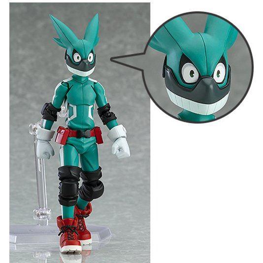 Anime Figma 323# My Hero Academia Midoriya Izuku Figure Figurine New Toy No Box
