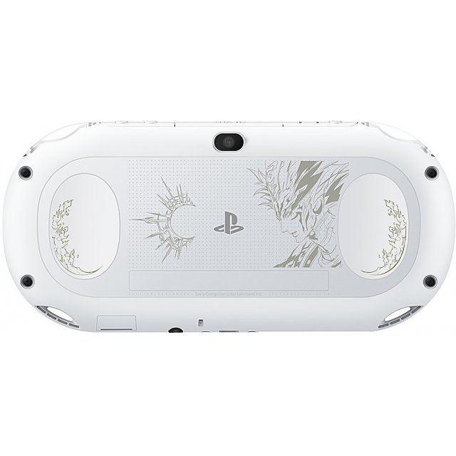 PlayStation Vita [SaGa: Scarlet Grace Special Pack Jashin Edition] (Glacier White)