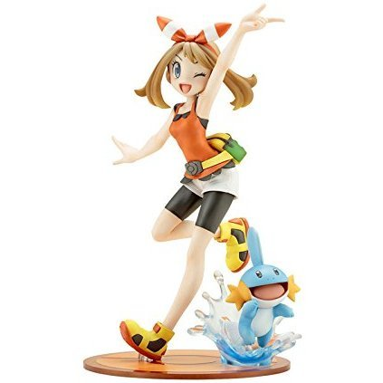 ARTFX J Pokemon Series 1/8 Scale Pre-Painted Figure: May with Mudkip (Re-run)