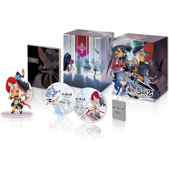 Majo to Hyakkihei 2 [Limited Edition Famitsu DX Pack 3D Crystal Set]