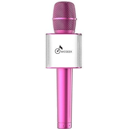 MicGeek Q9 Bluetooth Speaker Microphone (Pink)