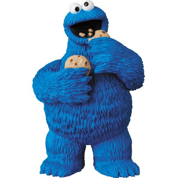 Sesame Street Ultra Detail Figure: Cookie Monster