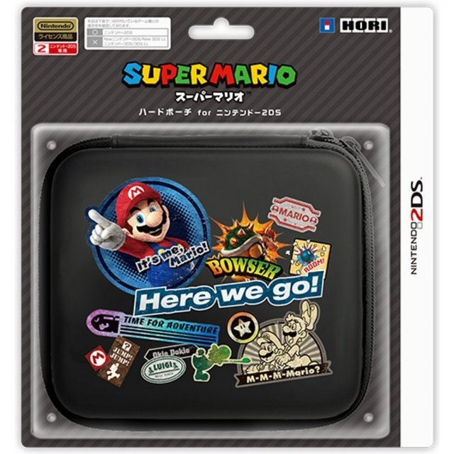 Super Mario Hard Pouch for 2DS