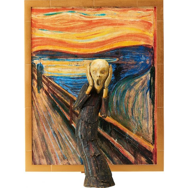 figma The Table Museum: The Scream