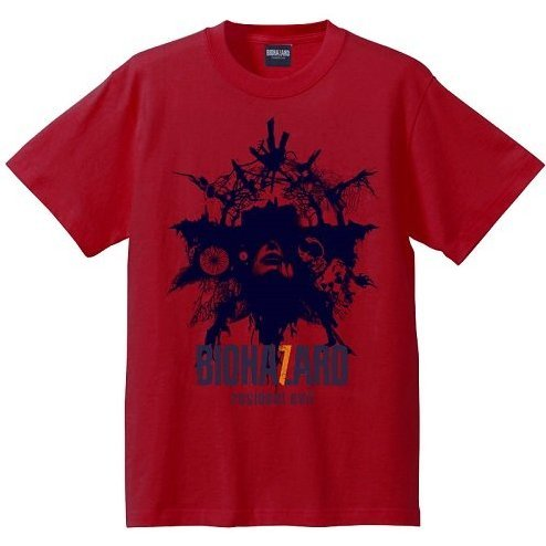 Biohazard 7 Resident Evil T-Shirt Red (XL Size)