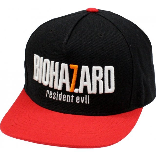 Biohazard 7 Baseball Cap Black x Red