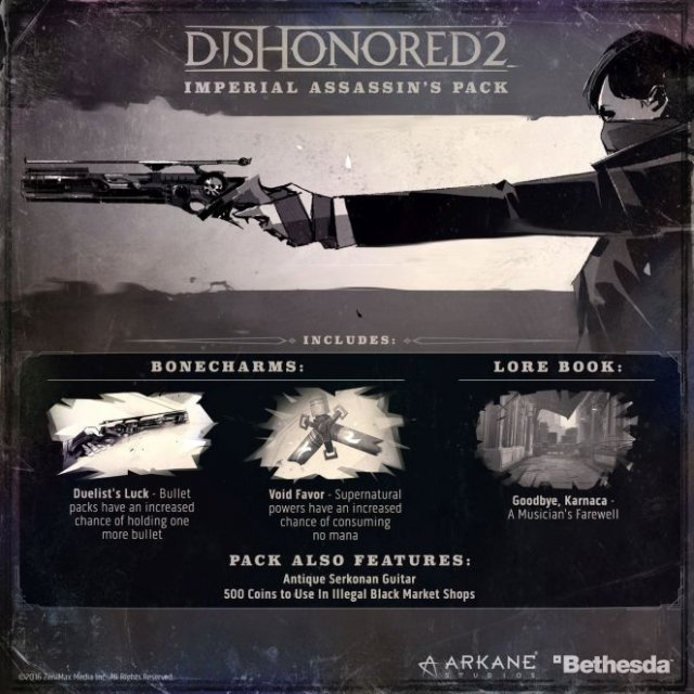 Dishonored 2 - Imperial Assassins [DLC] (Steam)