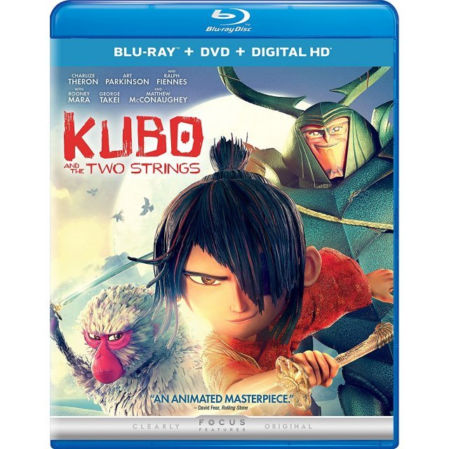 Kubo And The Two Strings [Blu-ray+DVD+Digital HD]