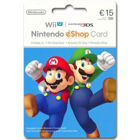 Nintendo eShop Card 15 EUR | Germany Account